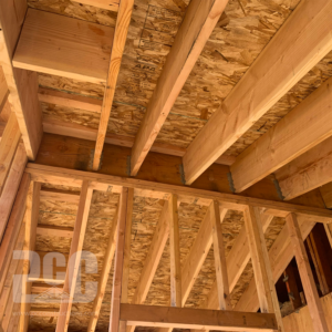 Wooden Framing of Home