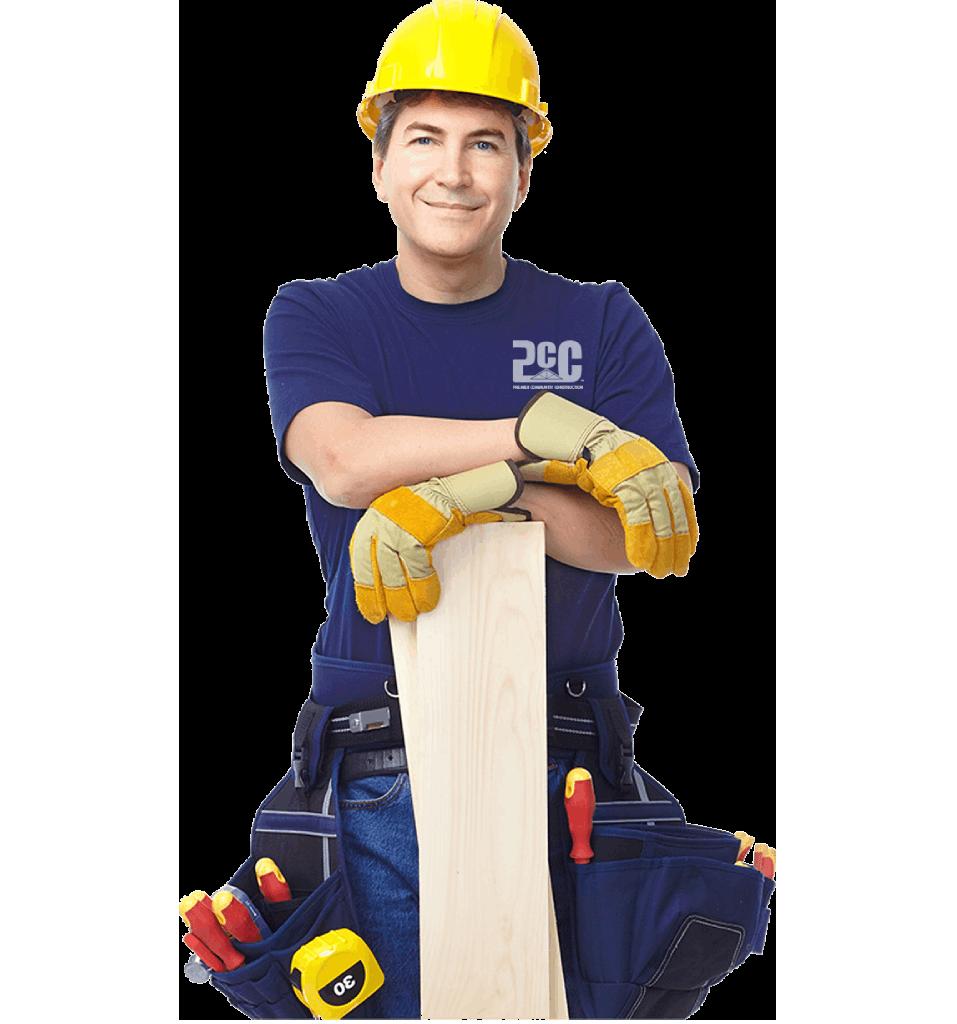 Man In Construction Uniform
