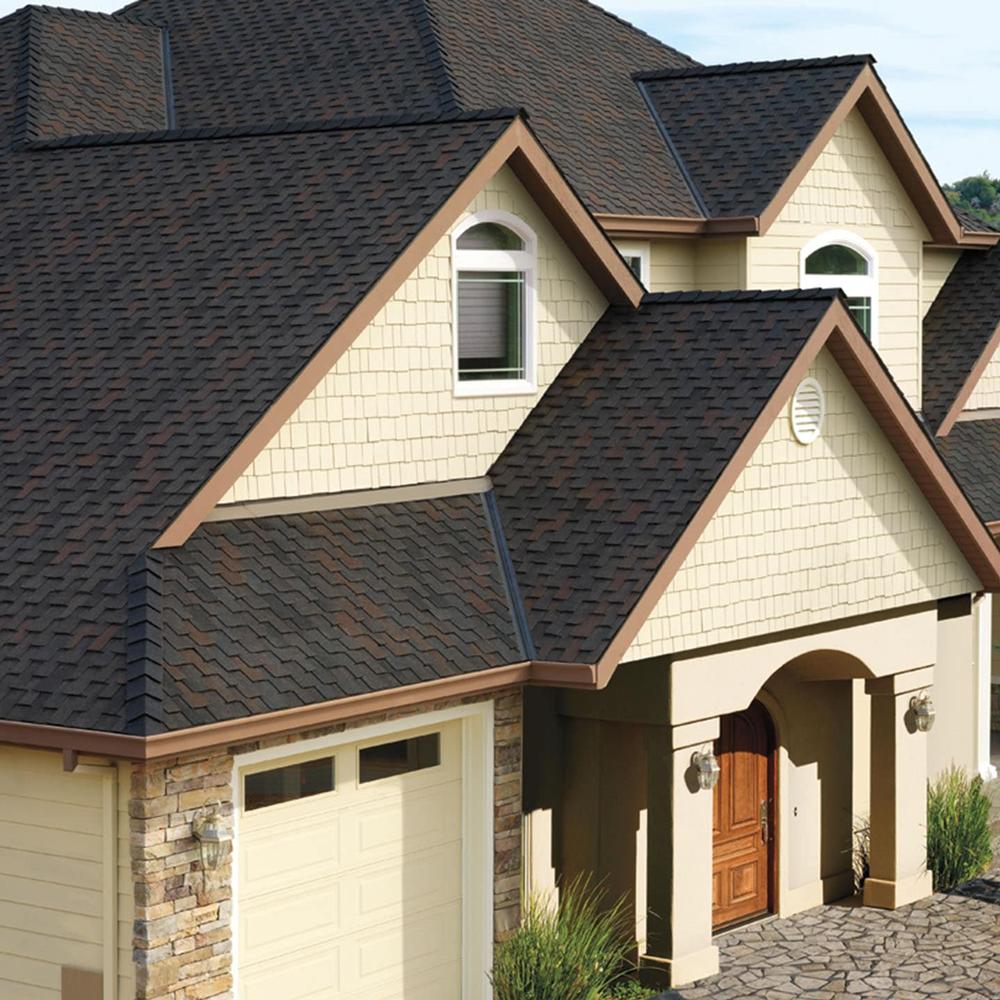 black oak roofing on house